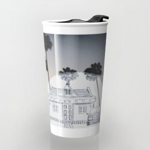 Travel with PencilSunset_travelmug