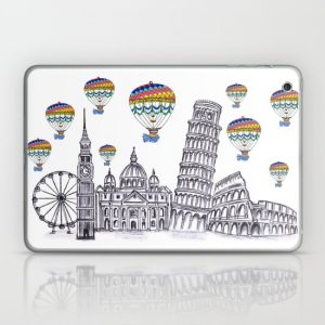Travel with airballoon
