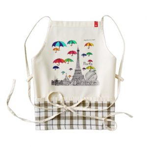 Travel with apron