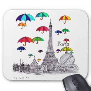 Travel with mousepad