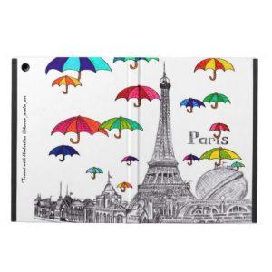Travel with umbrella_ipadaircase