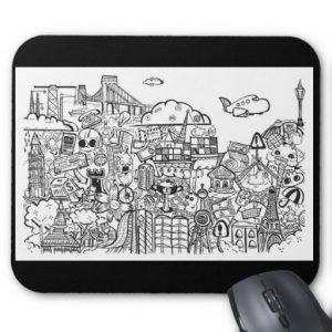 doodles_mousepad