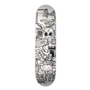 doodles_skateboard