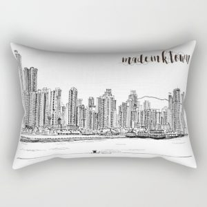 k tOWN_rectangular_pillow