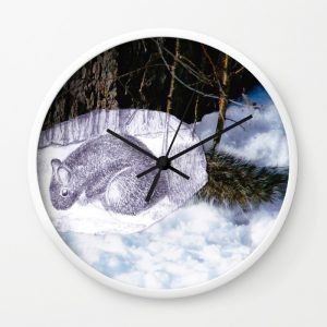 lovely-squirrel-in-montreal-wall-clocks