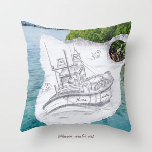 sailingboatpillow