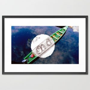 travel-with-penguins-at-amazon-framed-prints