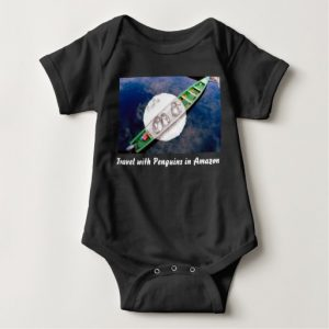 travel with penguins_babytshirt