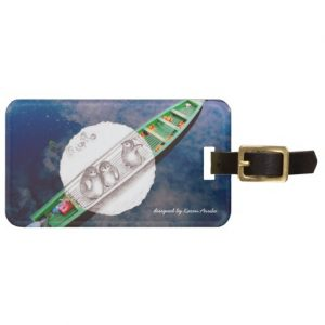 travel with penguins_luggagetag