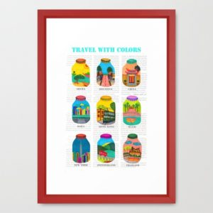 travel-with-colors-framed-prints