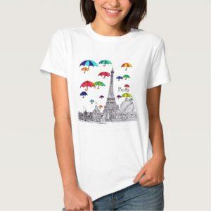 travel_with_umbrellas_t-shirt